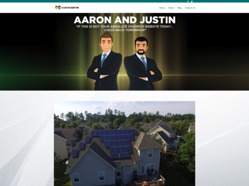 AARON AND JUSTIN