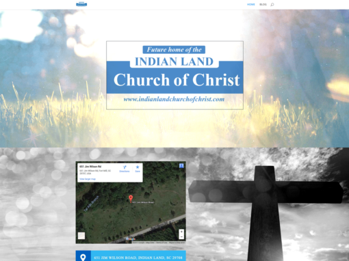 INDIAN LAND CHURCH OF CHRIST