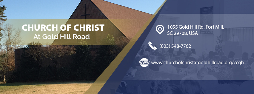 CHURCH OF CHRIST AT GOLD HILL ROAD FACEBOOK COVER