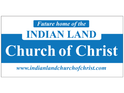 INDIAN LAND CHURCH OF CHRIST BRANDING LOGO