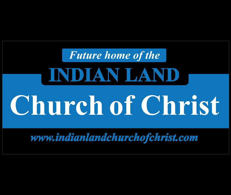 INDIAN LAND CHURCH OF CHRIST BRANDING LOGO