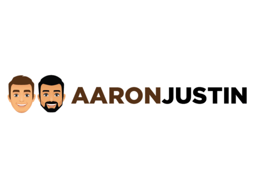 AARON AND JUSTIN BRANDING LOGO