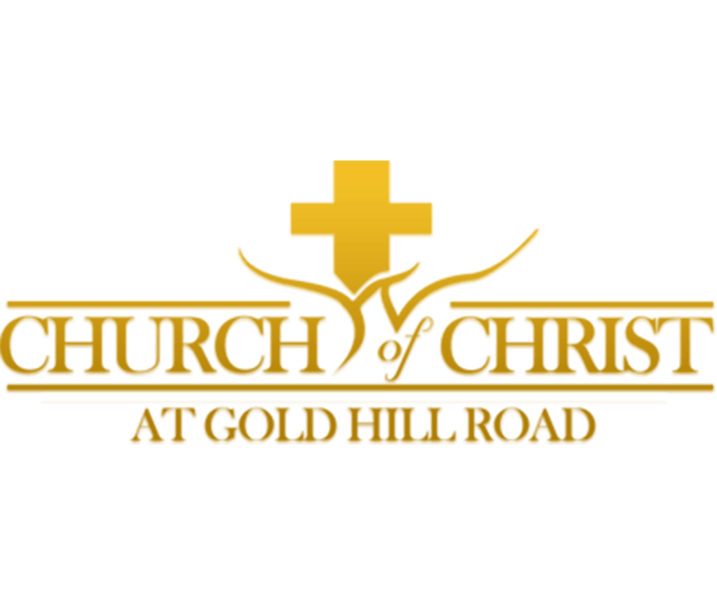 CHURCH OF CHRIST AT GOLD HILL ROAD BRANDING LOGO