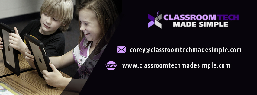 CLASSROOM TECH MADE SIMPLE FACEBOOK COVER